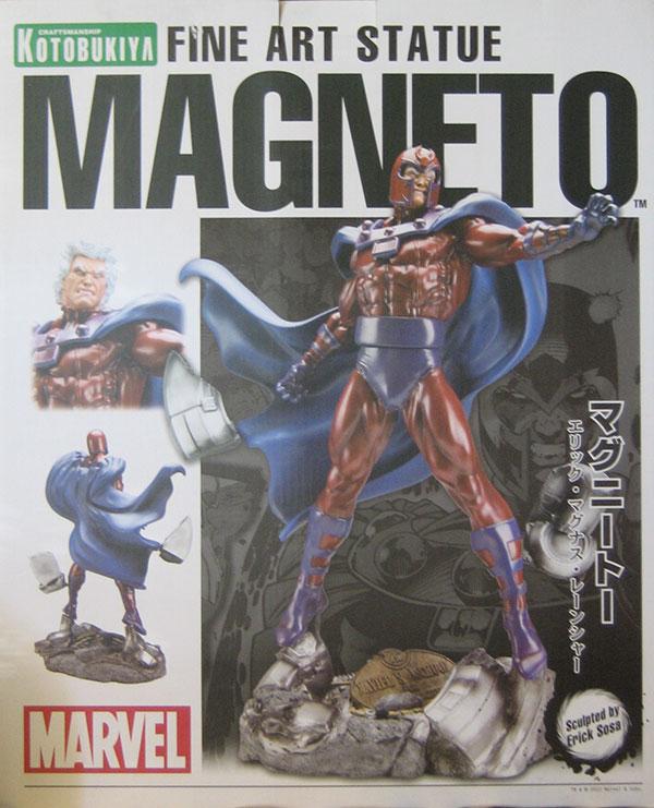 MagnetoFineArtStatue