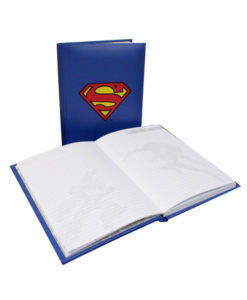 Superman Notebook With Light