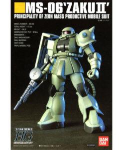 High Grade UC MS-06 Zaku II Mass Production Type