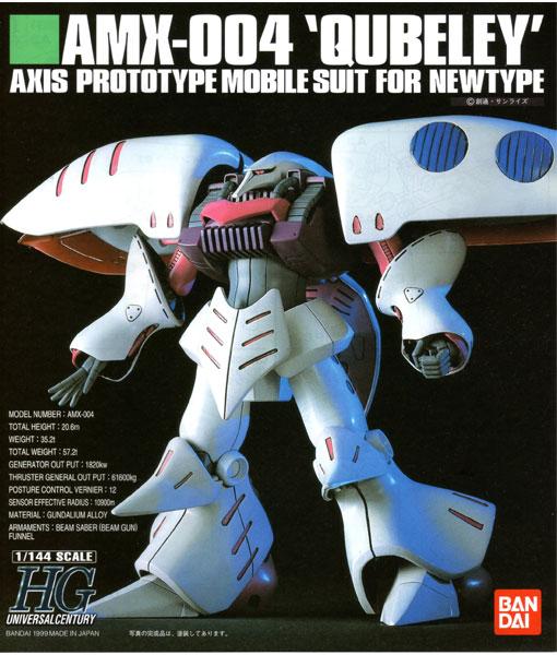 High Grade UC AMX-004 Qubeley