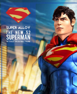 The New 52 Superman Super Alloy Sixth Scale Figure Exclusive Edition