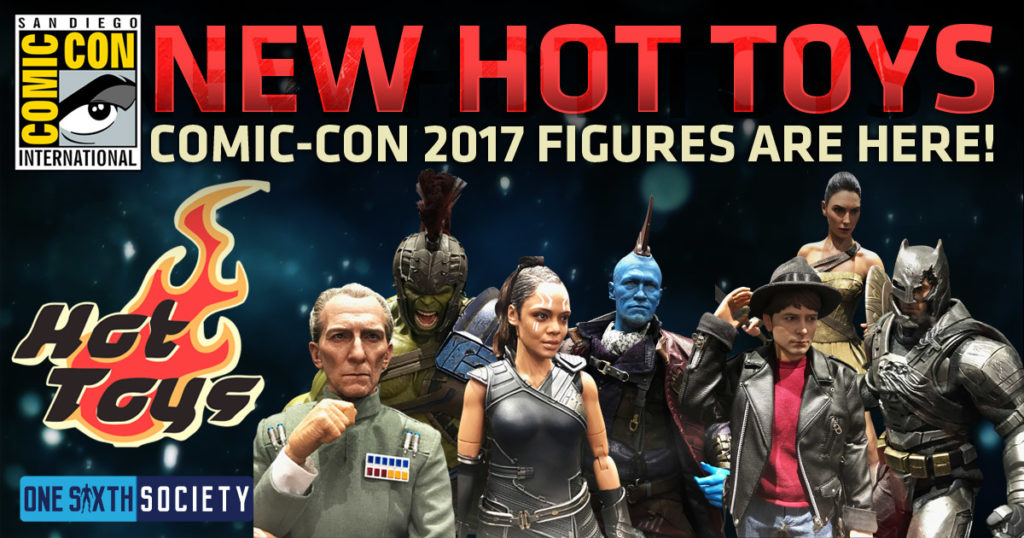 Logo Hot Toys SDCC 2017