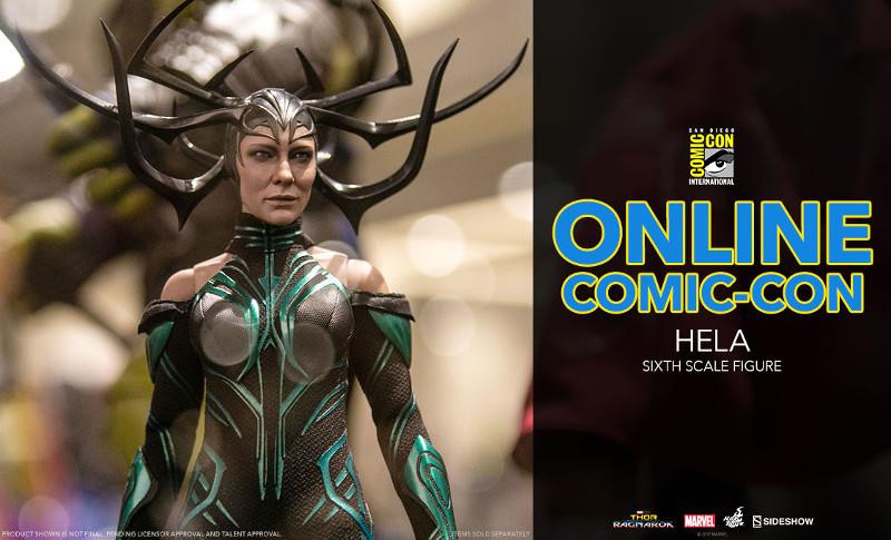 Thor Ragnarok Hela Sixth Scale Figure