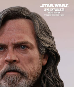 Star Wars Episode VIII Luke Skywalker Deluxe Version Sixth Scale Figure MMS