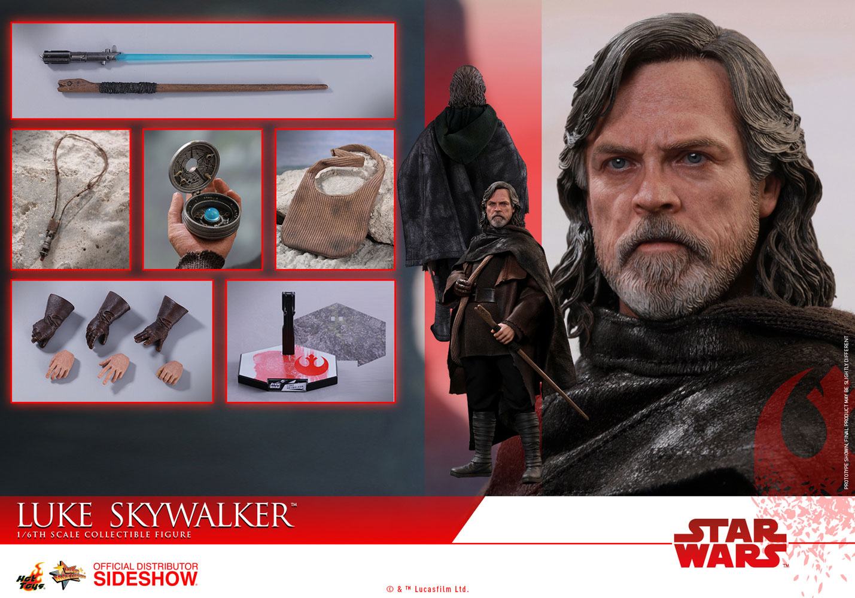 Luke Skywalker Unveiled