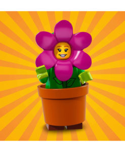 71021 LEGO Minifigures Series 18 Flowerpot Girl