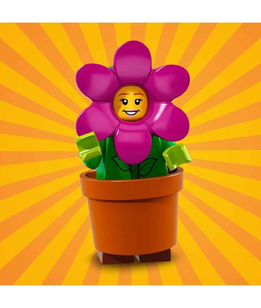 71021 LEGO Minifigures Series 18 Flowerpot Girl