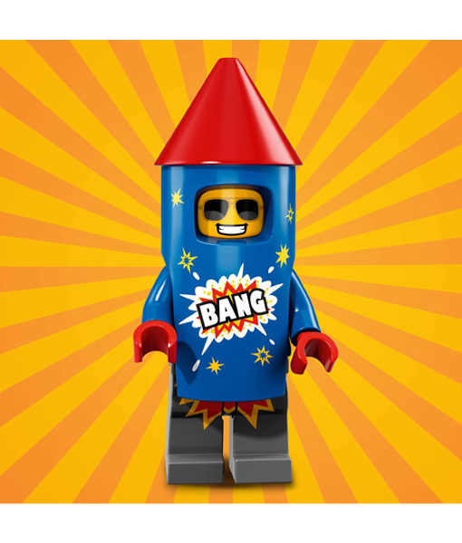 71021 LEGO Minifigures Series 18 Firework Guy