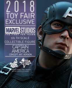 Captain America Concept Art Version Sixth Scale Figure MMS Toy Fair