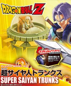 Dragon Ball Z Super Saiyan Trunks Figure-rise Standard
