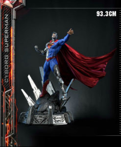Cyborg Superman Statue MM