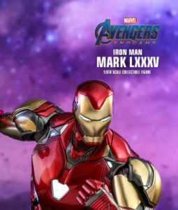Avengers Endgame Iron Man Mark LXXXV Sixth Scale Figure DIECAST MMS