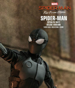 Spider-Man Far From Home Stealth Suit Deluxe Version Sixth Scale Figure MMS