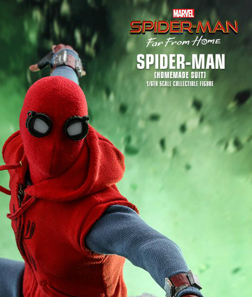 Spider-Man Far From Home Homemade Suit Sixth Scale Figure MMS