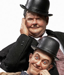 Stan Laurel and Oliver Hardy Classic Suits Replica Sixth Scale Figure