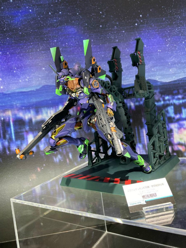 Tamashii Nations 2019 Metal Build Eva 01