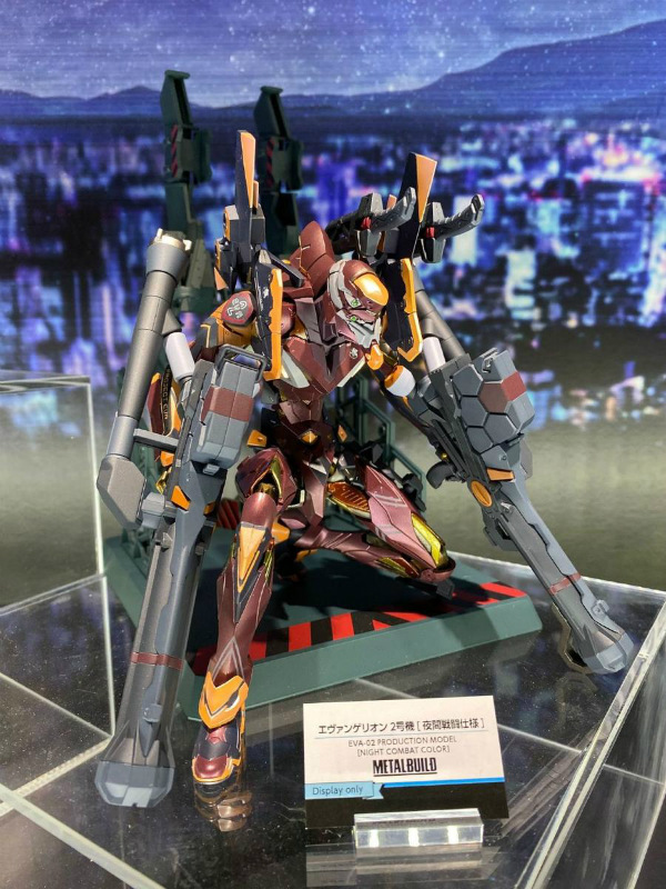 Tamashii Nations 2019 Metal Build Eva 02