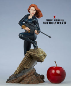 Avengers Assemble Black Widow Statue