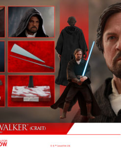 Star Wars Episode VIII Luke Skywalker Crait Sixth Scale Figure MMS