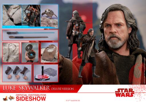 Star Wars Episode VIII Luke Skywalker Deluxe Version Sixth Scale Figure MMS