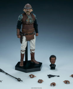 Lando Calrissian Skiff Guard Version Sixth Scale Figure