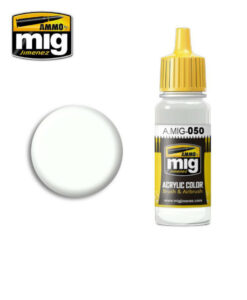 AMIG0050 Matt White Color AMMO