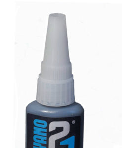 C21BLK Colle21 Super Glue Black Cyanoacrylate