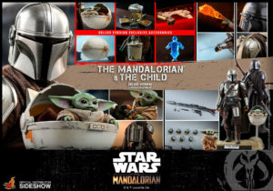 Mandalorian and The Child Deluxe Sixth Scale Collection Set TMS