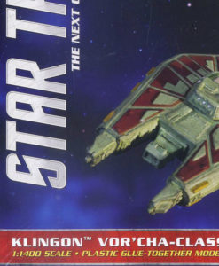 Star Trek The Next Generation Klingon Vor'cha-Class Battle Cruiser