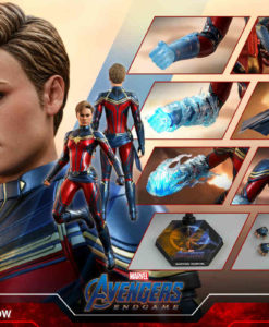 Avengers Endgame Captain Marvel Sixth Scale Figure MMS