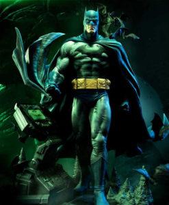 Hush Batman Batcave Version Statue MM