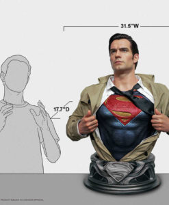 Justice League Superman Life-Size Bust