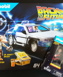 Back to the Future DeLorean and 1955 Edition Pack