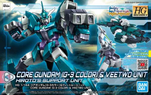 Build Divers Re RISE Core Gundam G-3 Color Veetwo Unit