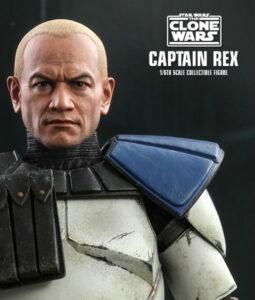 Clone Wars Captain Rex Sixth Scale Figure TMS