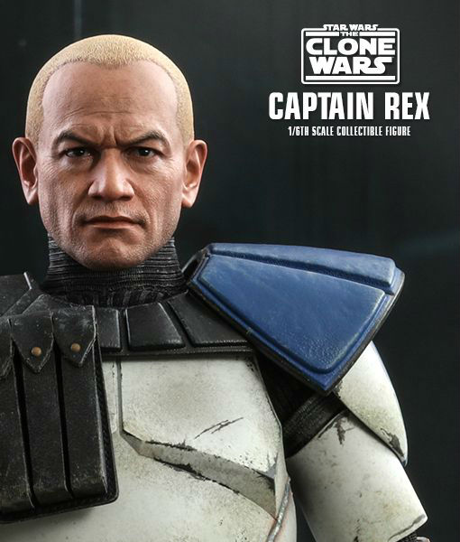 Clone Wars Captain Rex Sixth Scale Figure TMS