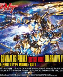 HG UC 03 Phenex Destroy Gold