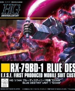 HG Universal Century Blue Destiny Unit 1 EXAM