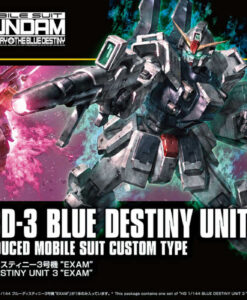 HG Universal Century Blue Destiny Unit 3 EXAM