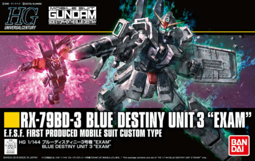 HG Universal Century Blue Destiny Unit 3 EXAM