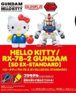Hello Kitty RX-78-2 Gundam SD