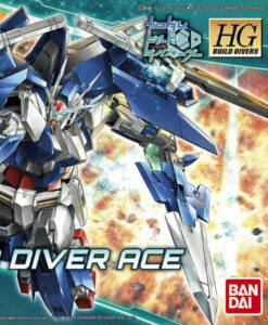 High Grade Build Divers Gundam 00 Diver Ace