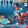 High Grade Build Divers Re RISE Marsfour Weapons
