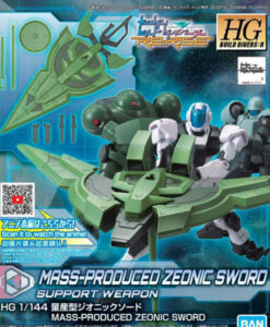 High Grade Build Divers Re RISE Mass-Produced Zeonic Sword