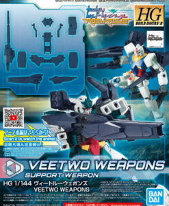 High Grade Build Divers Re RISE Veetwo Weapons