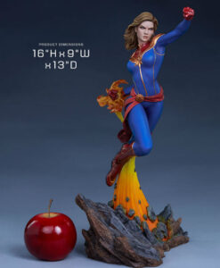 Avengers Assemble Captain Marvel Statue