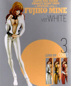 Lupin The Third Groovy Baby Shot Special Fujiko Mine White