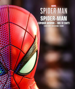 Spider Armor MK IV Suit Sixth Scale Figure VGM
