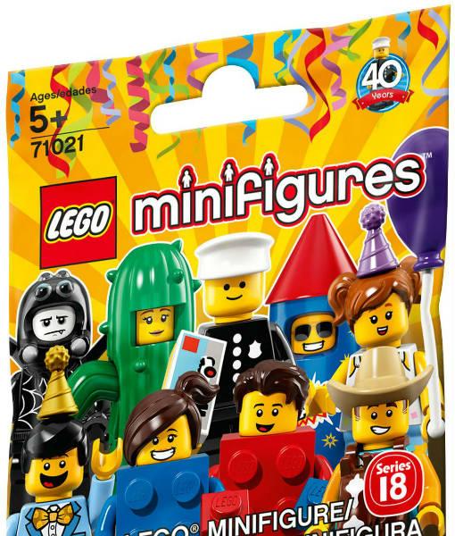 71021 LEGO Minifigures Series 18