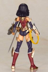 Cross Frame Girl Wonder Woman Plastic Model Kit